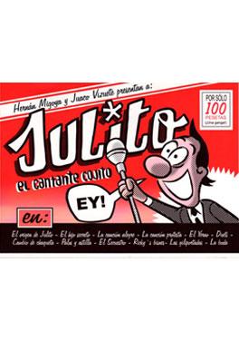 Julito, el cantante cojito