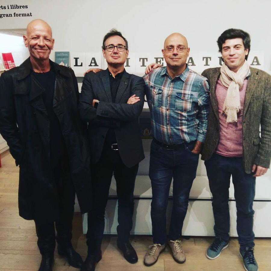 Santiago Sequeiros, Ricardo Esteban, Hernán Migoya y Pepe Monfort