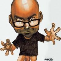 Caricatura por Marcelo Sosa