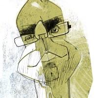 Caricatura por Joaquín Aldeguer