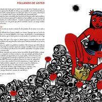 Páginas del relato Follando de usted