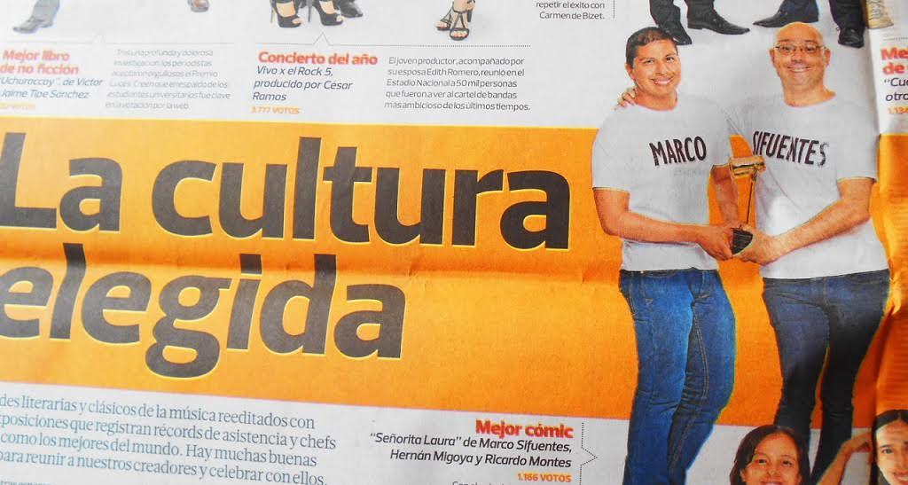 El primer premio latinoamericano de Hernán Migoya
