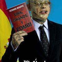 Retrato de David Campos para la promoción de la novela Una, grande y zombi